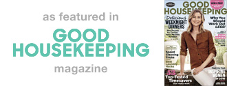 As Featured in Good Housekeeping Magazine
