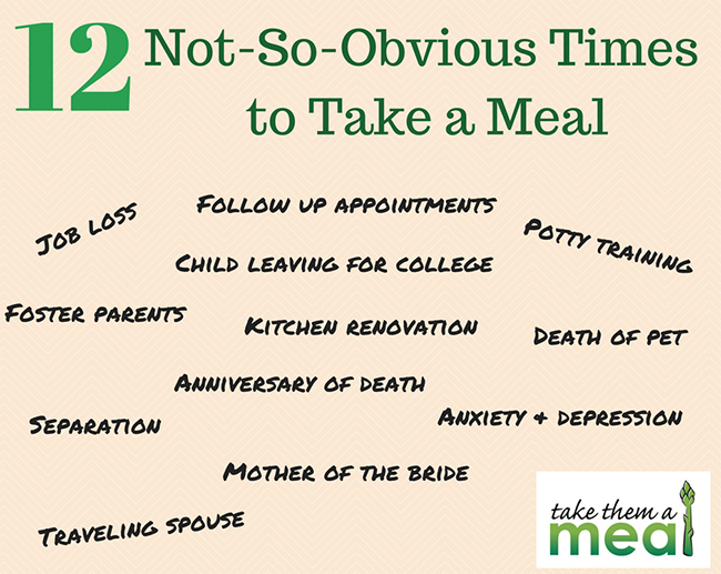 12 Not-So-Obvious Times to Take a Meal