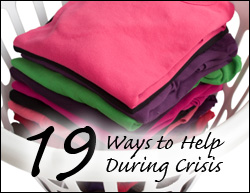 19 Ways to Help During Crisis
