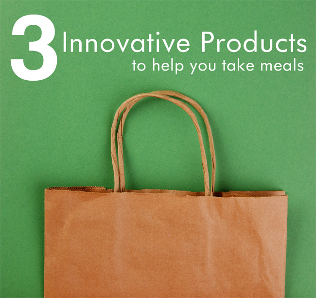 3 Innovative Products to Help You Take Meals