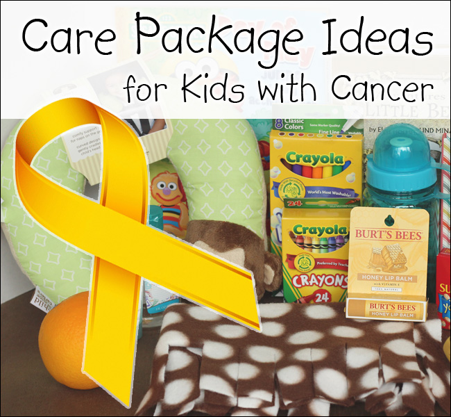 kids chemo care package ideas | just b.CAUSE