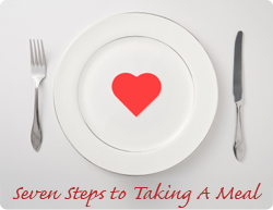 Seven Steps to Taking a Meal