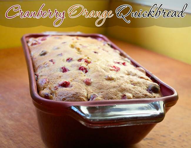 Cranberry-Orange Quickbread