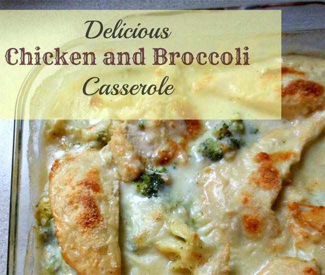 Delicious Chicken and Broccoli Casserole