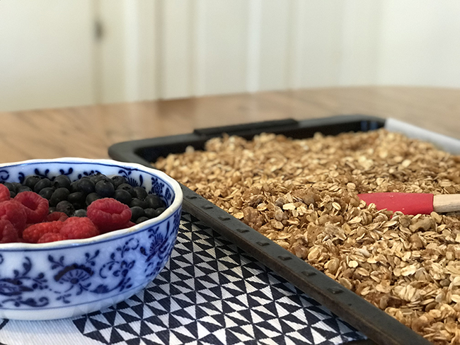 Deliver a Good Morning with Homemade Granola