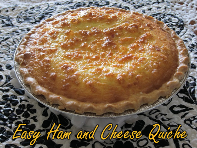 Cheese Quiche Related Keywords & Suggestions - Ham And Cheese Quiche ...