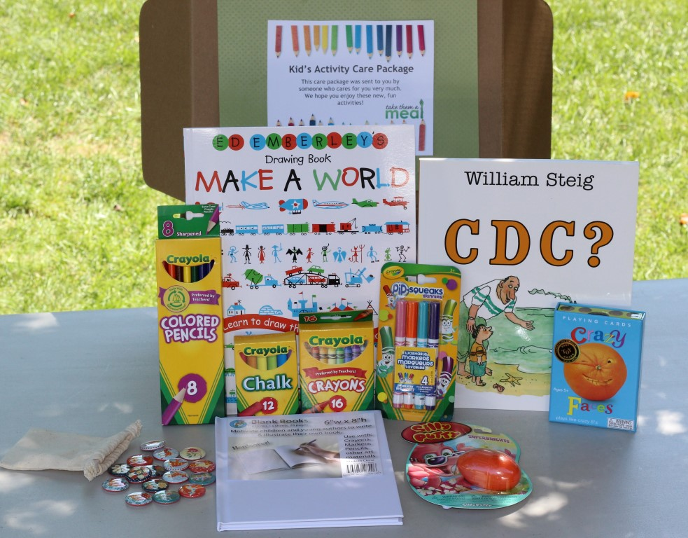Kids Activity Care Package