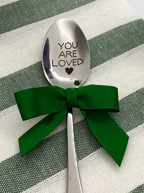 Our Engraved Spoons are Now Available