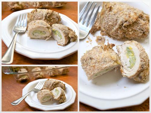 Chicken Rollatini Stuffed With Zucchini And Mozzarella Recipes ...