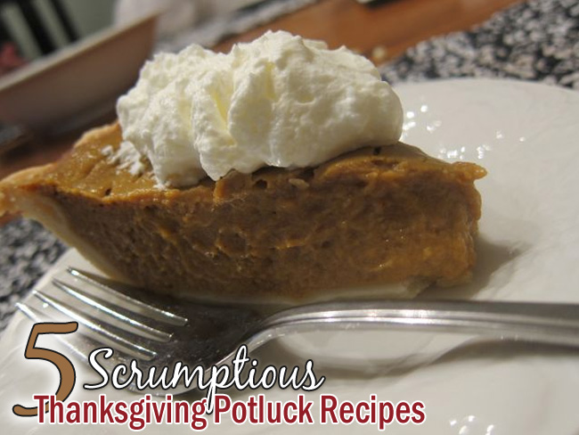 5 Scrumptious Thanksgiving Potluck Recipes, from Comfy in the Kitchen