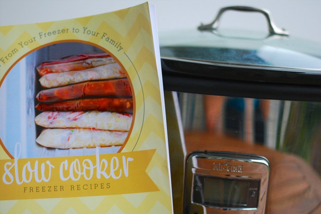 From Your Freezer To Your Family: Slow Cooker Freezer Recipes PRINT Cookbook
