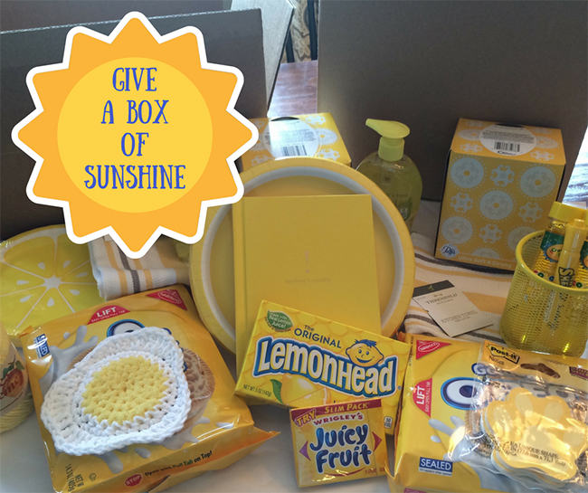 Give A Box of Sunshine