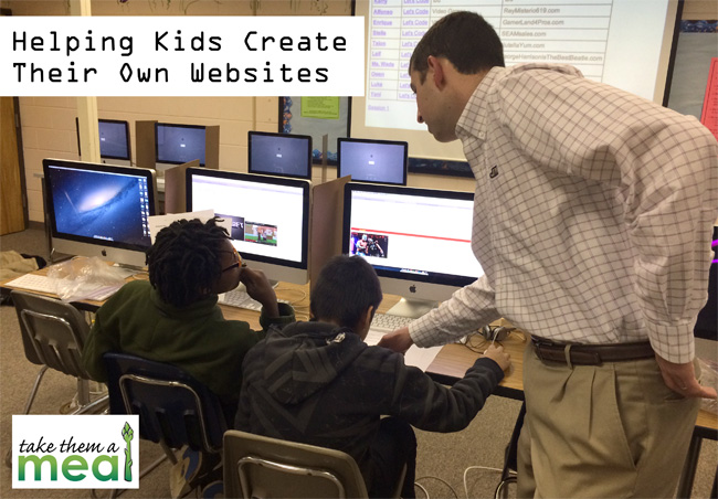 Helping Kids Create Their Own Websites