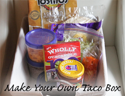 Make Your Own Taco Box