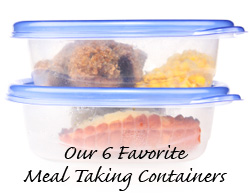 Our 6 Favorite Meal Taking Containers