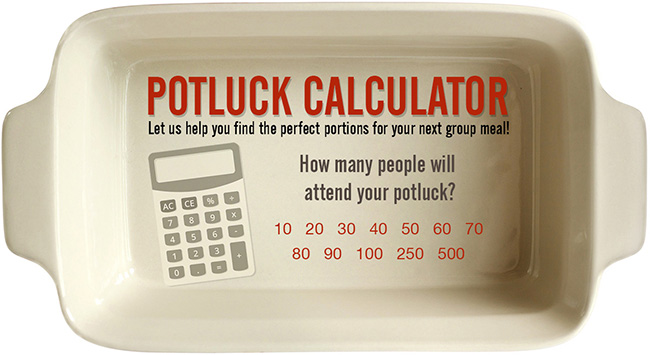Our New, Interactive Potluck Calculator
