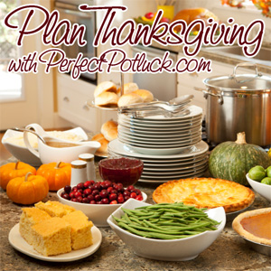 Plan Thanksgiving with PerfectPotluck.com