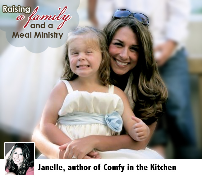Raising a family and a Meal Ministry