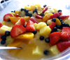 Fruit Salad with a Simple Secret Ingredient