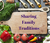 Sharing Family Traditions
