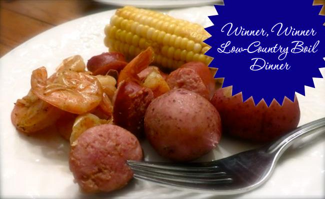 Winner, Winner Low-Country Boil Dinner