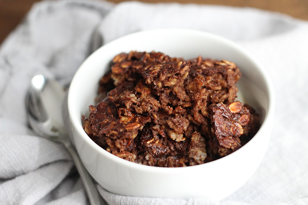 Baked Brownie Oatmeal