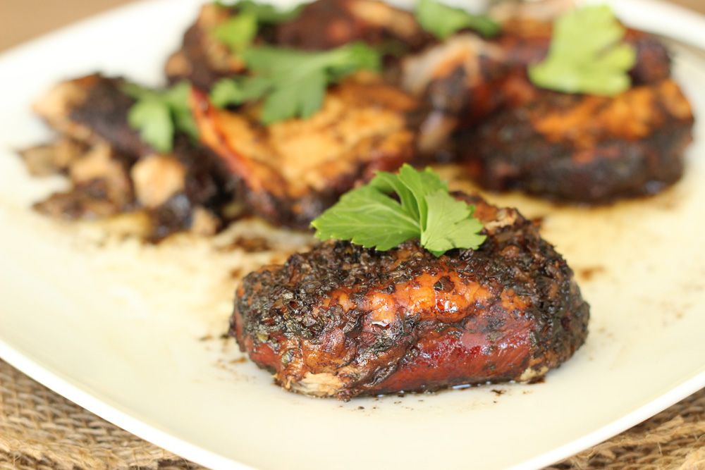 Basil Marinated Chicken Thighs Recipes — Dishmaps