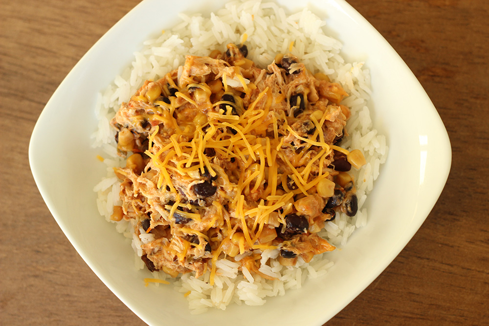 Easy Crock Pot Mexican Chicken