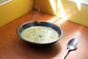 Chicken Coconut Curry Soup