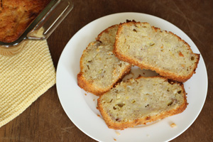 Low Sodium and Vegan Banana Bread