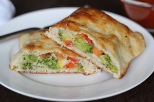 Garden Vegetable Calzones