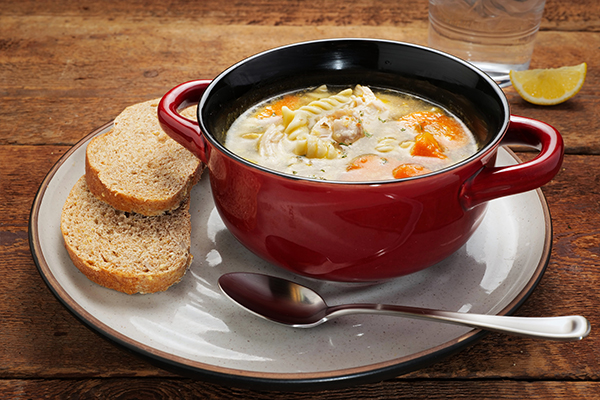 Good Ol' Chicken Noodle Soup Meal with 9-Grain Bread (3Q)