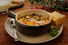 Christmas Comfort and Joy Soup Meal with Cornbread (2Q)