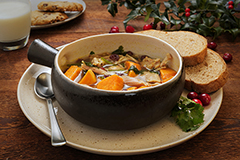 Christmas Comfort and Joy Soup Meal with 9-Grain Bread (2Q)