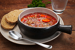 Imagine John Lentil Soup Meal with 9-Grain Bread (2Q)