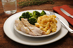 Turkey and Mac & Jack Meal